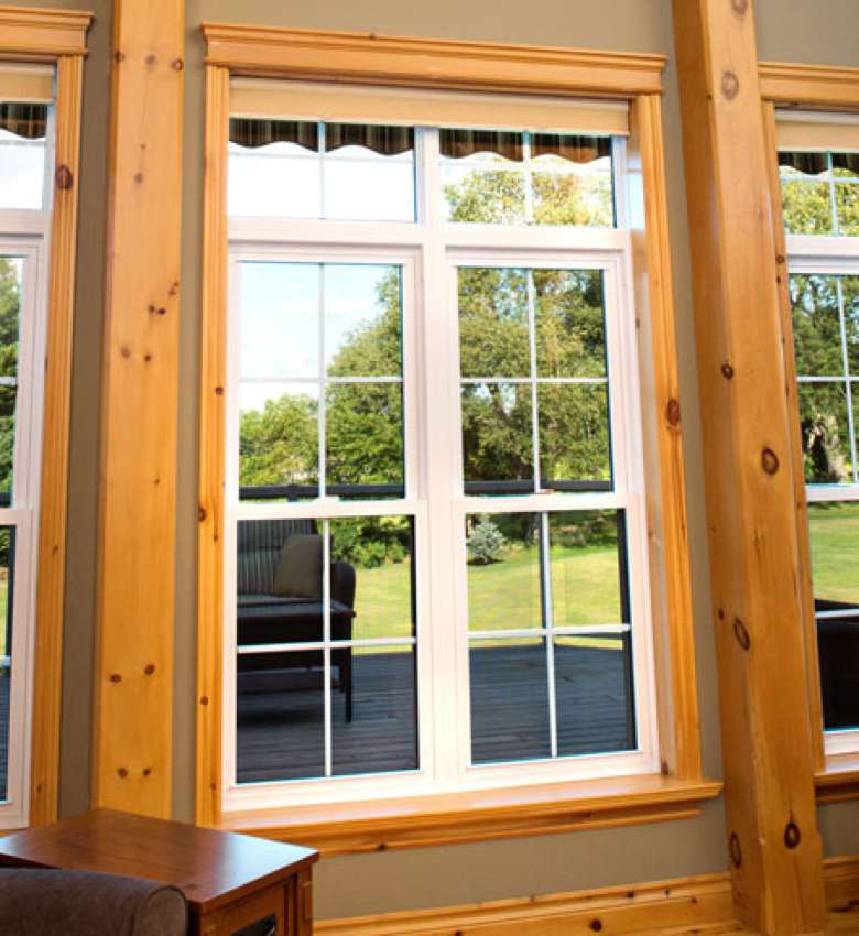 Bottom Hung Windows : Double hung windows stephenson strathroy ontario